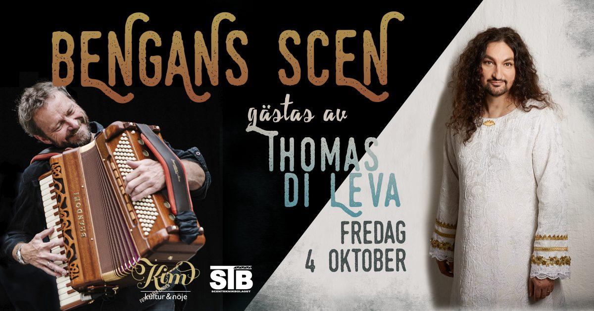 Bengans Scen med Thomas Di Leva