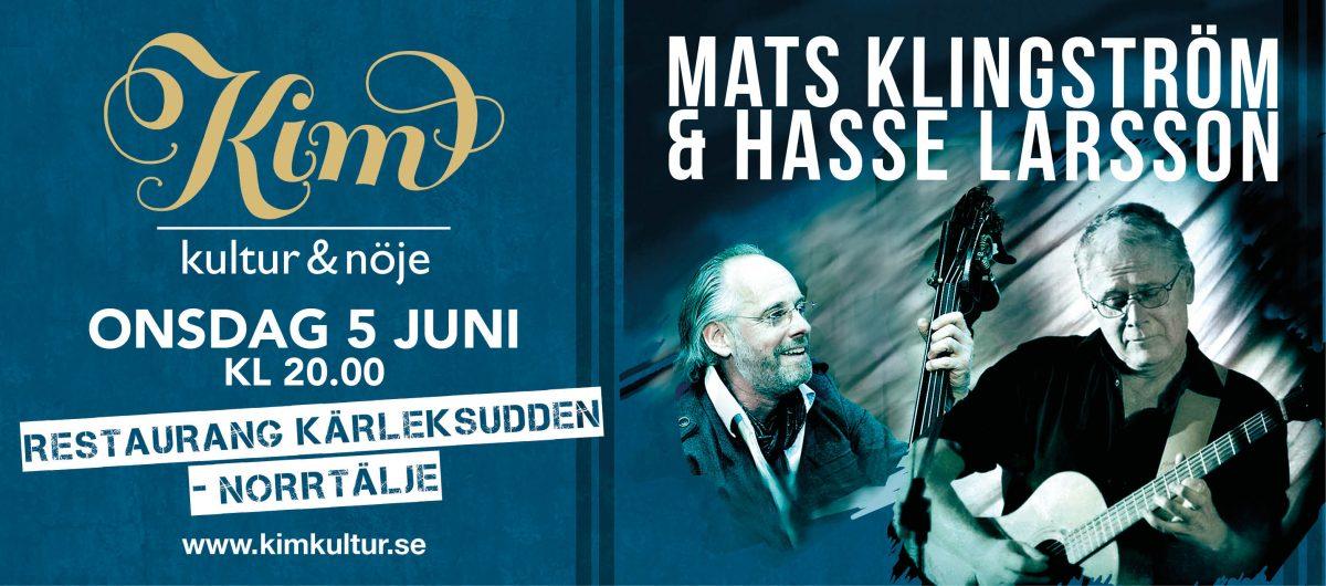 Mats Klingström och Hasse Larsson spelar på Kärleksudden